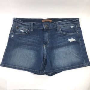 Joe's Jeans Denim Blue Jean Shorts Stretch 10 W 31